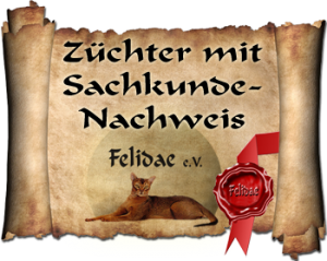 Züchter mit Sachkundenachweis, Felidae e.V.